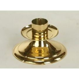 Brass candlestick - 9 cm (3)