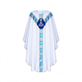 Marian chasuble semi gothic (39)
