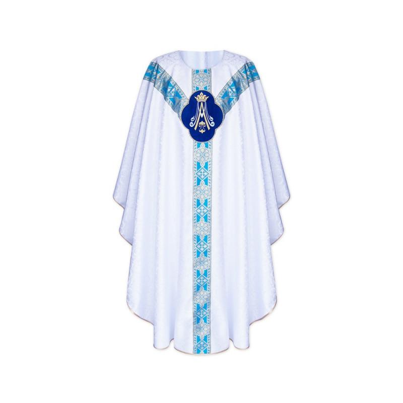 Marian chasuble semi gothic (39)