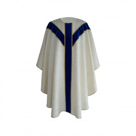 Marian chasuble semi gothic (40)