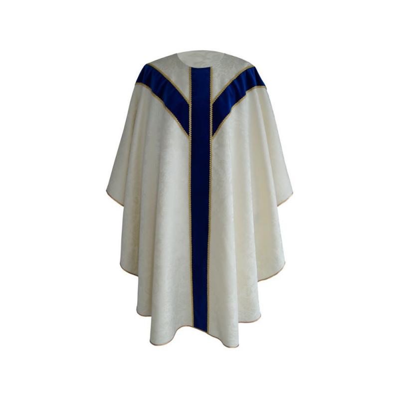 Marian chasuble semi gothic (40)