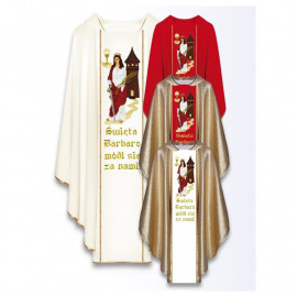 Chasuble of St. Barbara