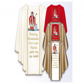 Chasuble with the image of St. Andrzej Bobola