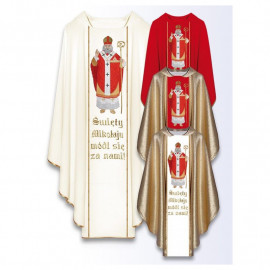 Chasuble with the image of St. Nicholas