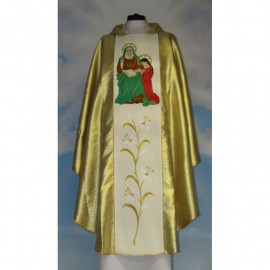 Embroidered chasuble - Saint Anna