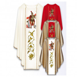 Chasuble with the image of St. Florian
