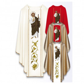 Chasuble with the image of St. Juda Tadeusz