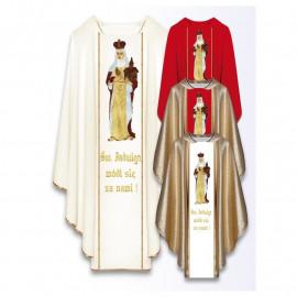 Chasuble with the image of St. Jadwiga