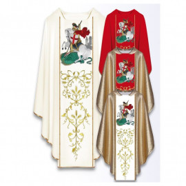 Chasuble with the image of St. George