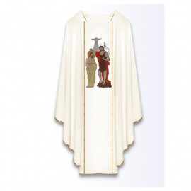 Chasuble - Baptism of the Lord Jesus in Jordan