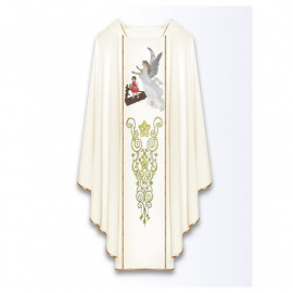 Chasuble with the image of a Guardian Angel
