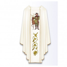 Chasuble with the image of St. Hubert