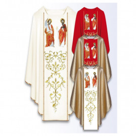 Embroidered chasuble - Saint  Peter and Paul