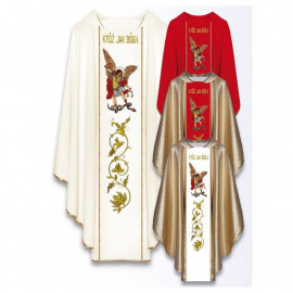 Chasuble with the image of St. Michael the Archangel