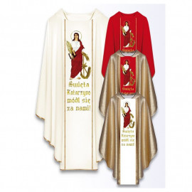 Chasuble with the image of St. Catherine