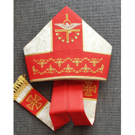 Embroidered mitre (5)