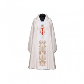 Embroidered chasuble Christ the High Priest