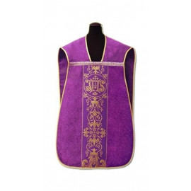 Roman chasuble - damask fabric (3)