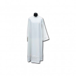 Clergy alb with a satin belt (9)