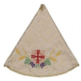 Ciborium Veil - gold color, embroidered (3)