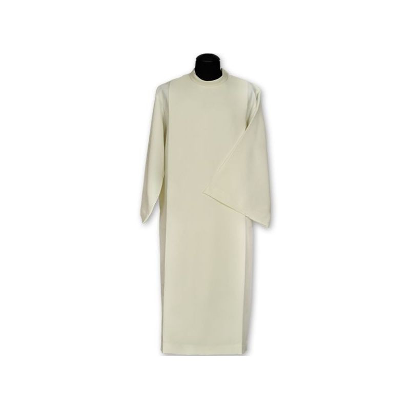 Clergy alb with wide pleats (33)