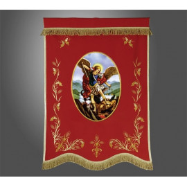 Church banner (2) - printed image (example model)
