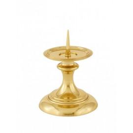 Brass candlestick of altar (14)