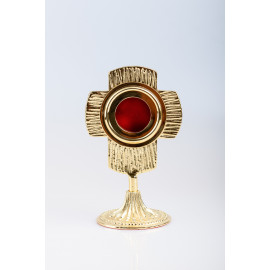 Gold Plated Reliquary - 17 cm (26)