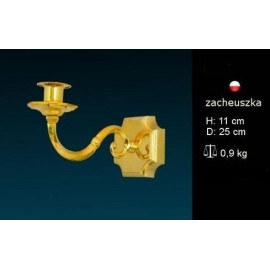 Brass wall sconce for candle light  (7)