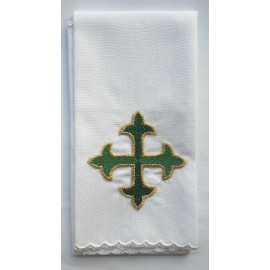 Purificator - green cross - 100% cotton