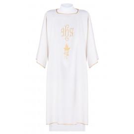 IHS embroidered dalmatics - ecru (8)