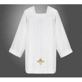Surplice priests - gold embroidery Fish (2)