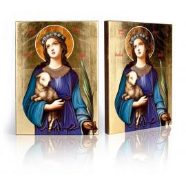 Icon Saint Agnes