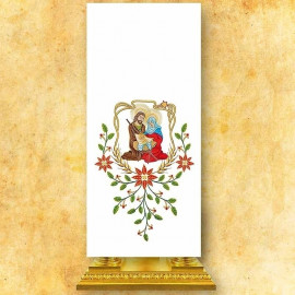 Embroidered pulpit covers Christmas (2)