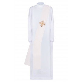 Embroidered deacon's stole Cross decorated (10)