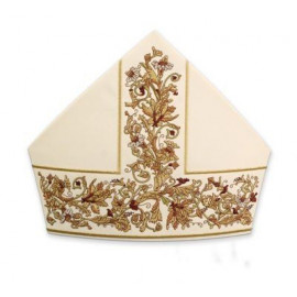 Mitre richly embroidered (3)