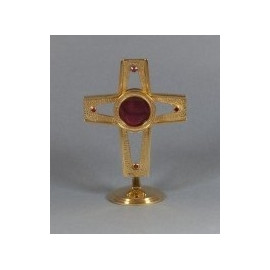 Gold-plated reliquary