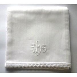 White corporal IHS - 100 % cotton