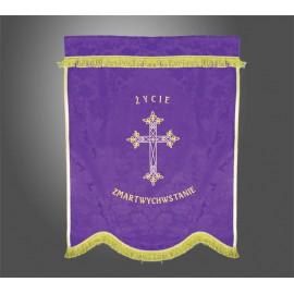 Banner funeral - Resurrection Life