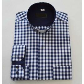 Clergy shirt - check