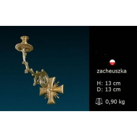 Brass wall sconce for candle light (2)