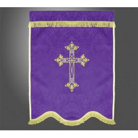 Banner funeral - Cross
