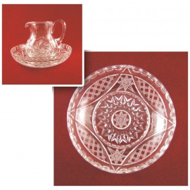 Lavabo Set + tray (crystal)