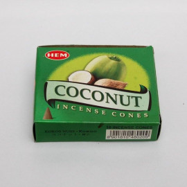 Incense cone - Coconut (10 cones)