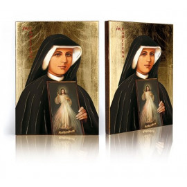 Icon Saint Faustina the Merciful Jesus