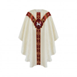 Semi-Gothic Easter Chasuble (30)