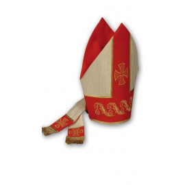 Embroidered mitre (1)