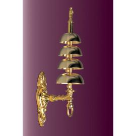 Quadruple brass sanctuary bell