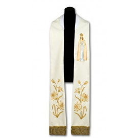 Priest's stole of MB Fatima (208)