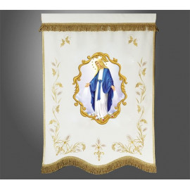 Church banner - printed image (example model)